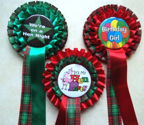 Customised rosettes